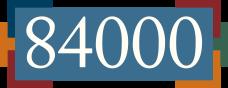 84000 logo